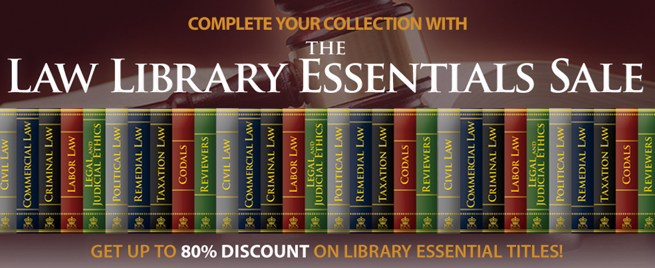 The Law Library Essentials Sale